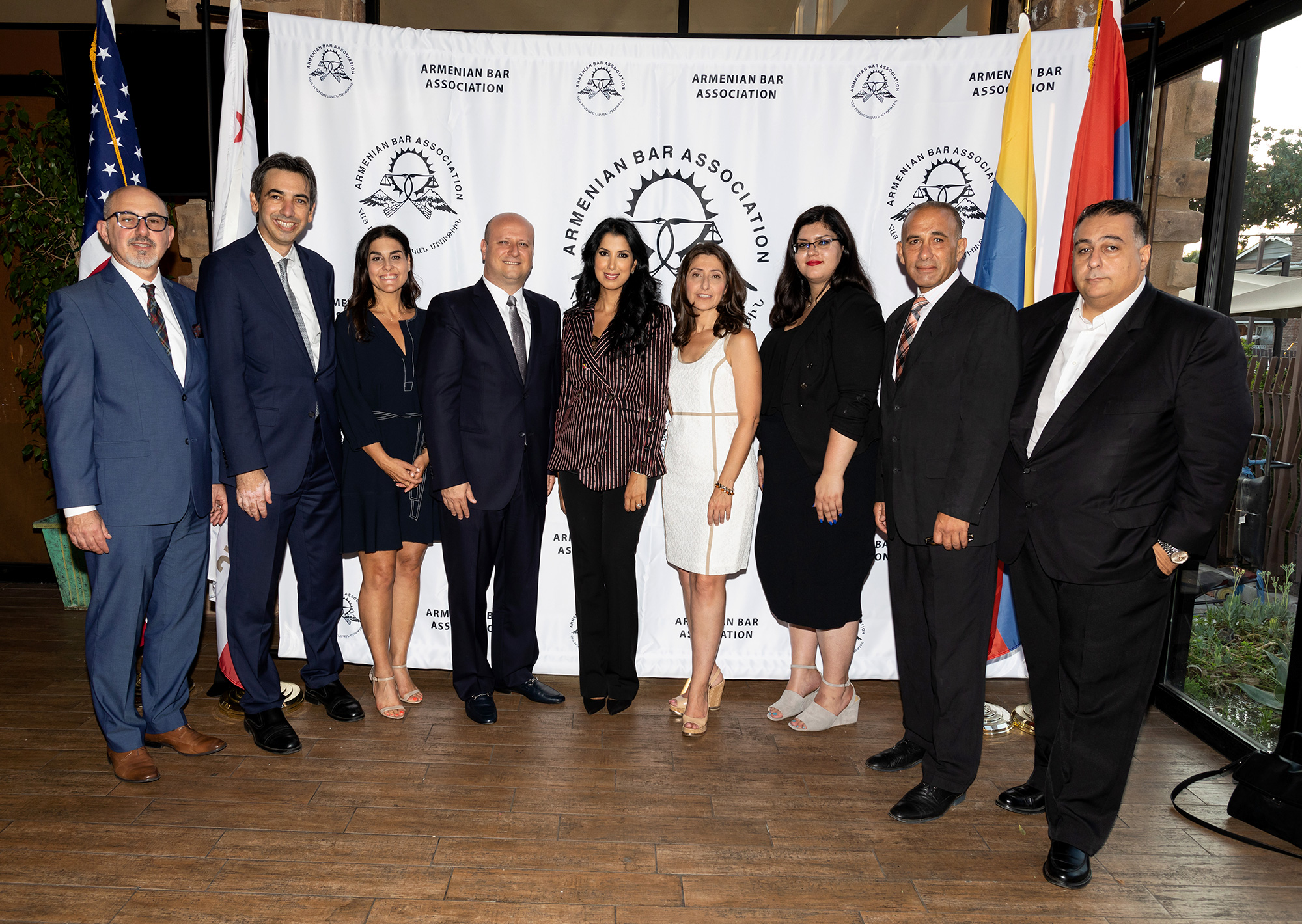 Armenian Bar Association Workers' Compensation Judges Night 2018