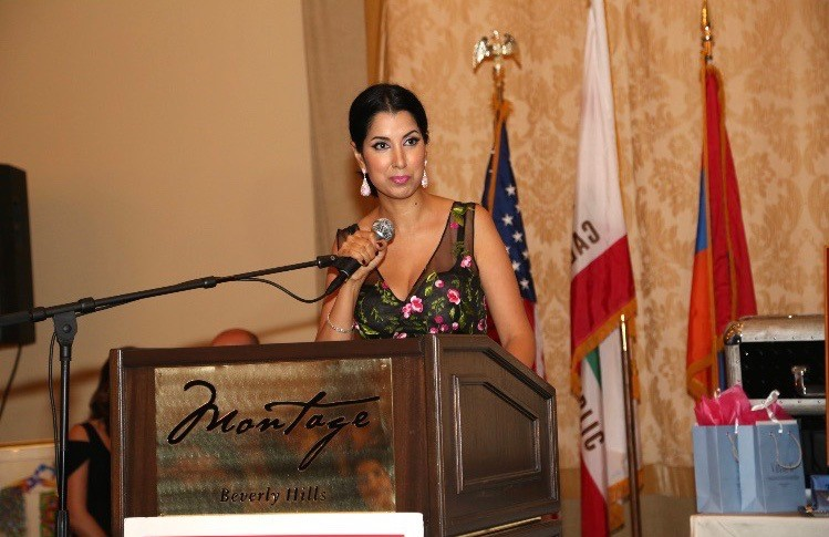 Tina Speaking at Armenian Bar Association's Annual Meeting